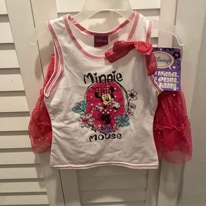 DISNEY MINNIE MOUSE TWO PIECE SET